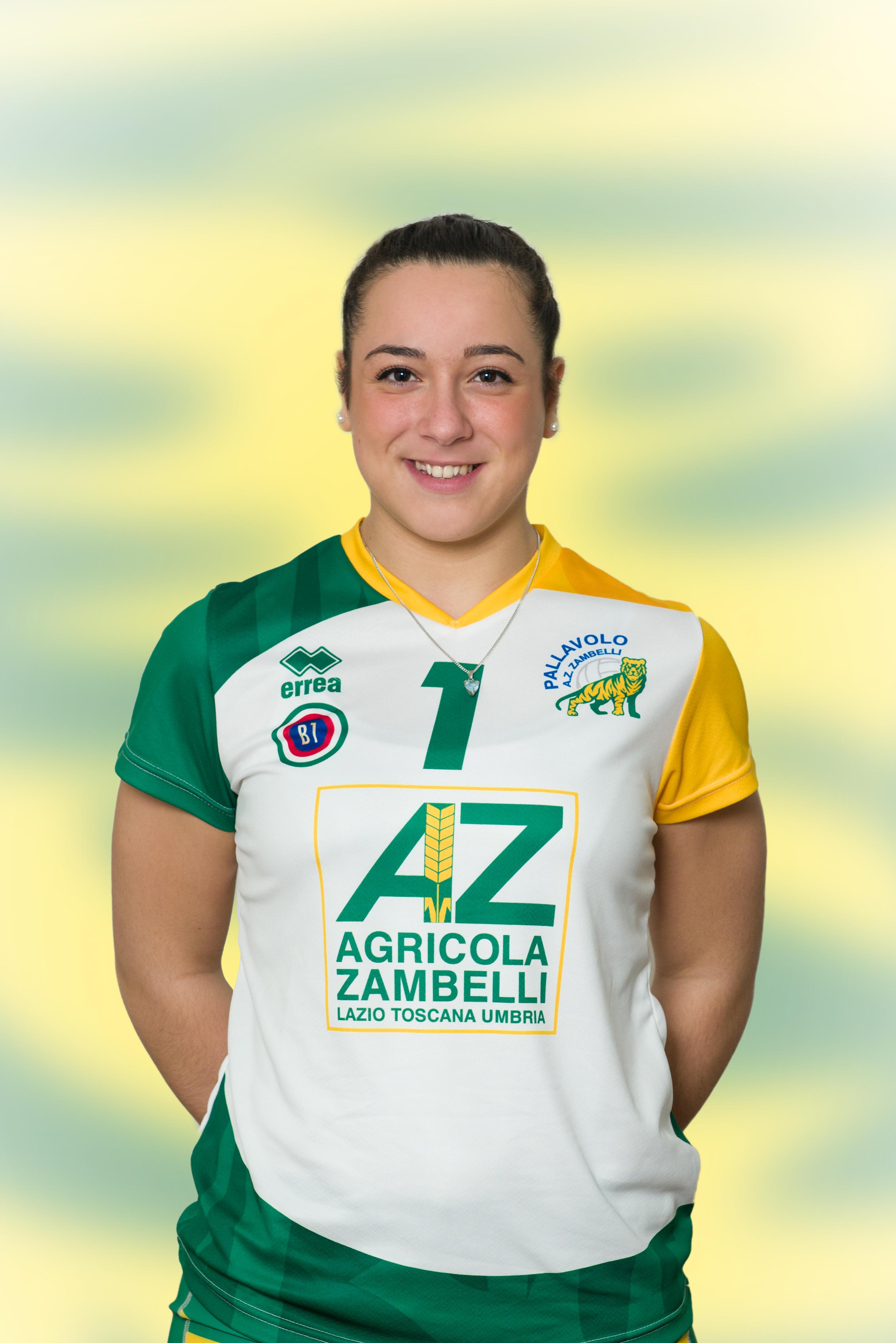[01] Giulia SERAFINI | Schiacciatrice | 1999 | AZ Zambelli ORVIETO • Campionato Pallavolo Femminile Serie B1 2015/16