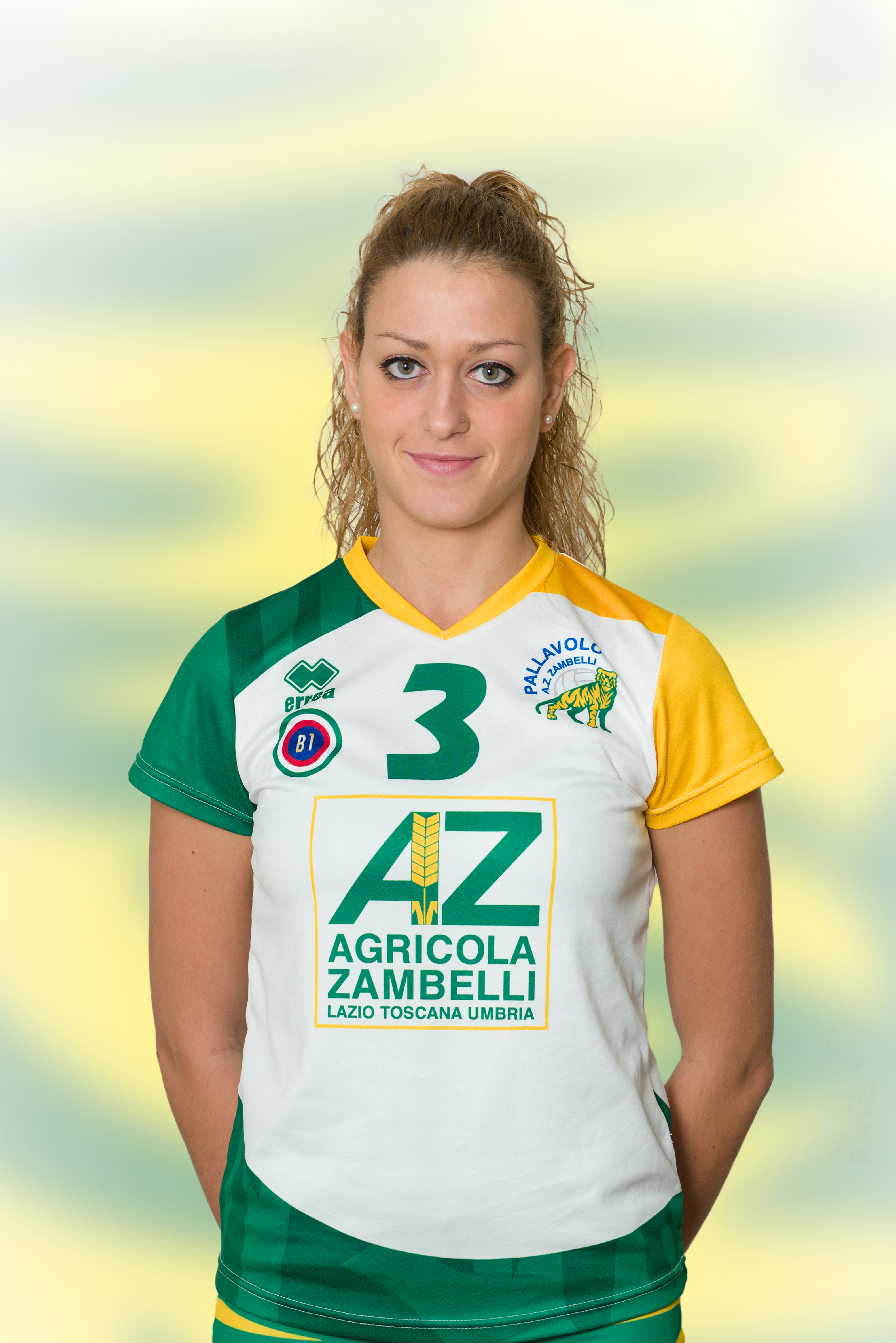 [03] Martina TIBERI | Centrale | 1991 | AZ Zambelli ORVIETO • Campionato Pallavolo Femminile Serie B1 2015/16