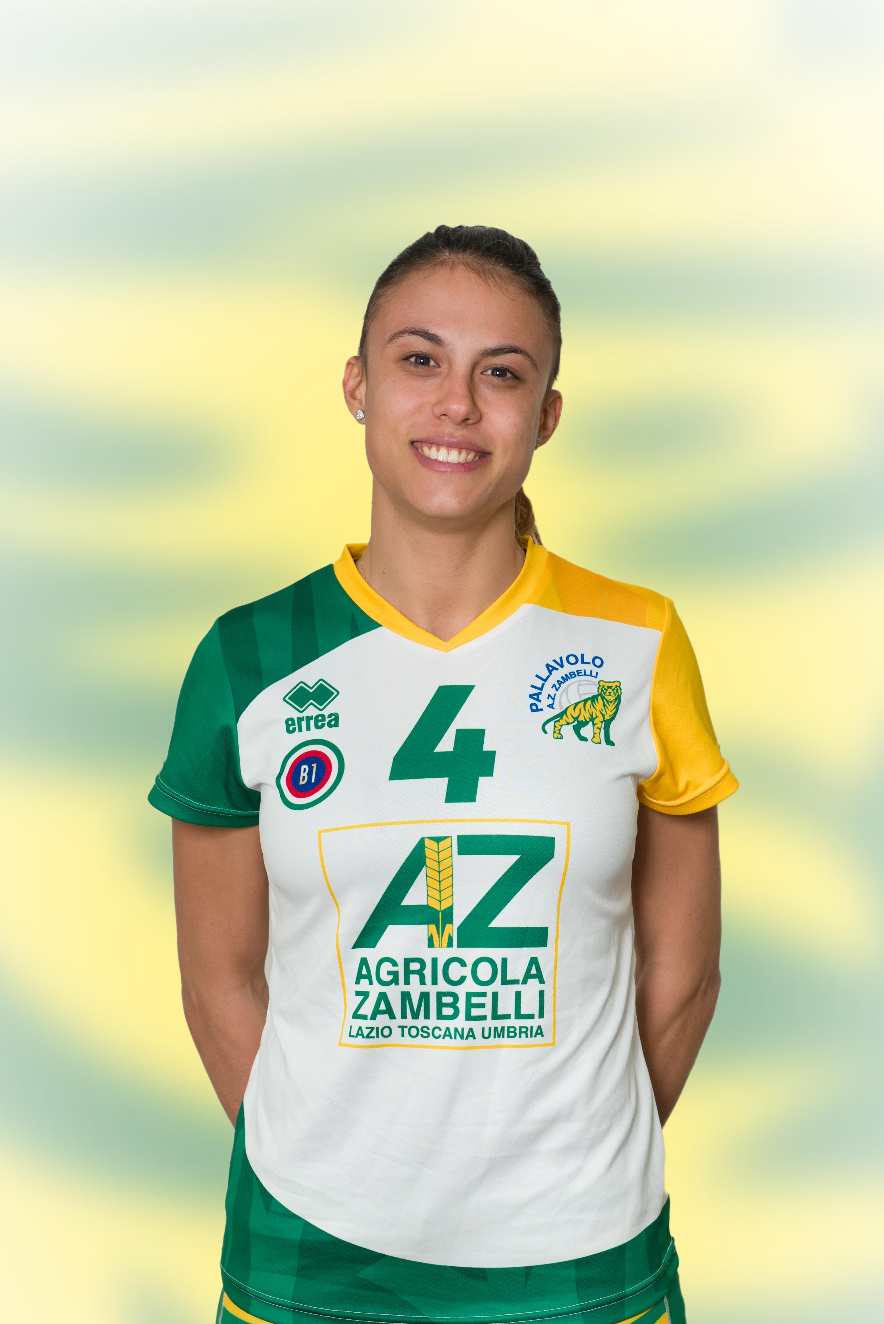 [04] Martina SABBATINI | Opposto | 1990 | AZ Zambelli ORVIETO • Campionato Pallavolo Femminile Serie B1 2015/16