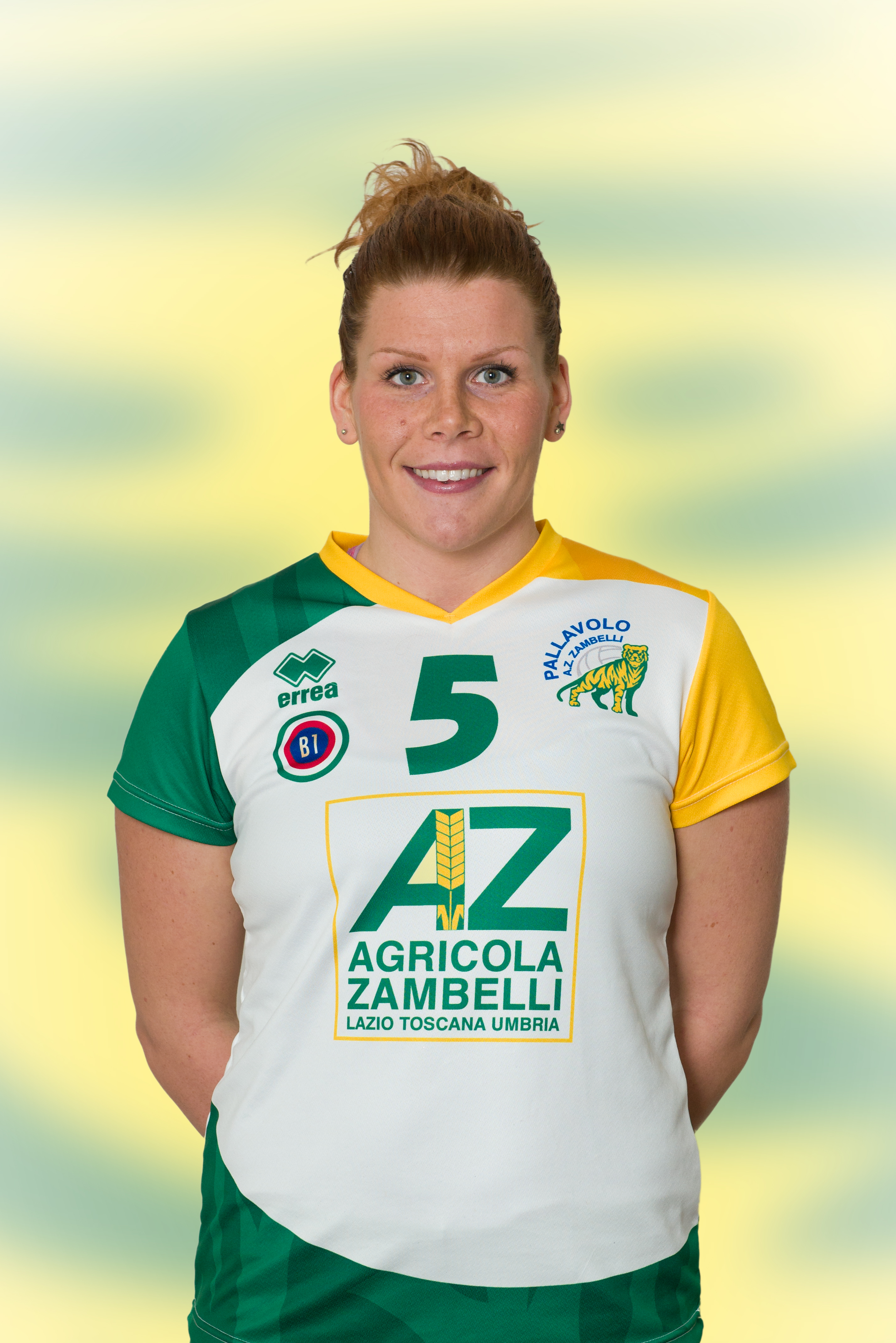 [05] Valeria PESCE   Palleggiatrice   1988   AZ Zambelli ORVIETO • Campionato Pallavolo Femminile Serie B1 2015/16