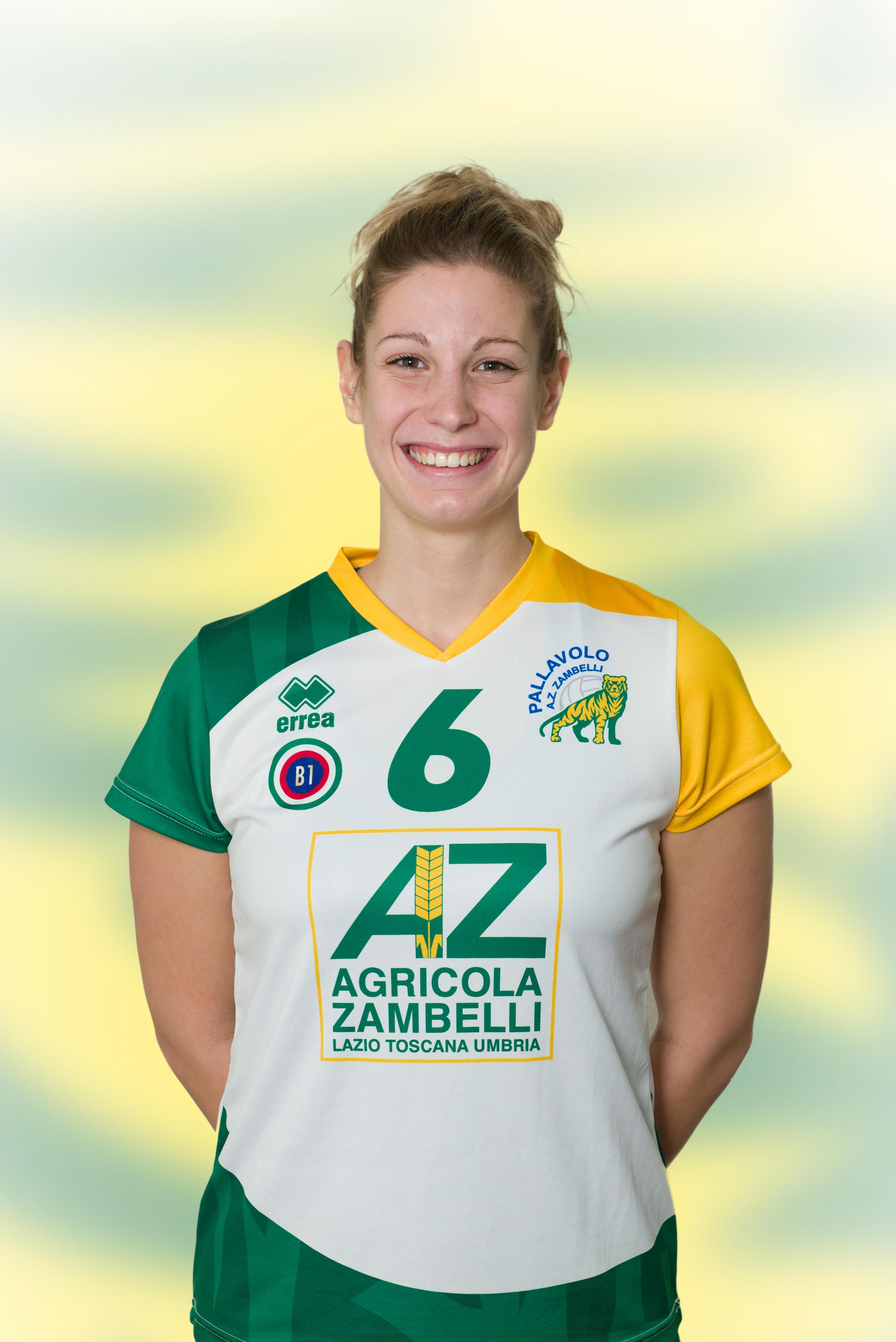 [06] Jasmine ROSSINI | Schiacciatrice | 1992 | AZ Zambelli ORVIETO • Campionato Pallavolo Femminile Serie B1 2015/16