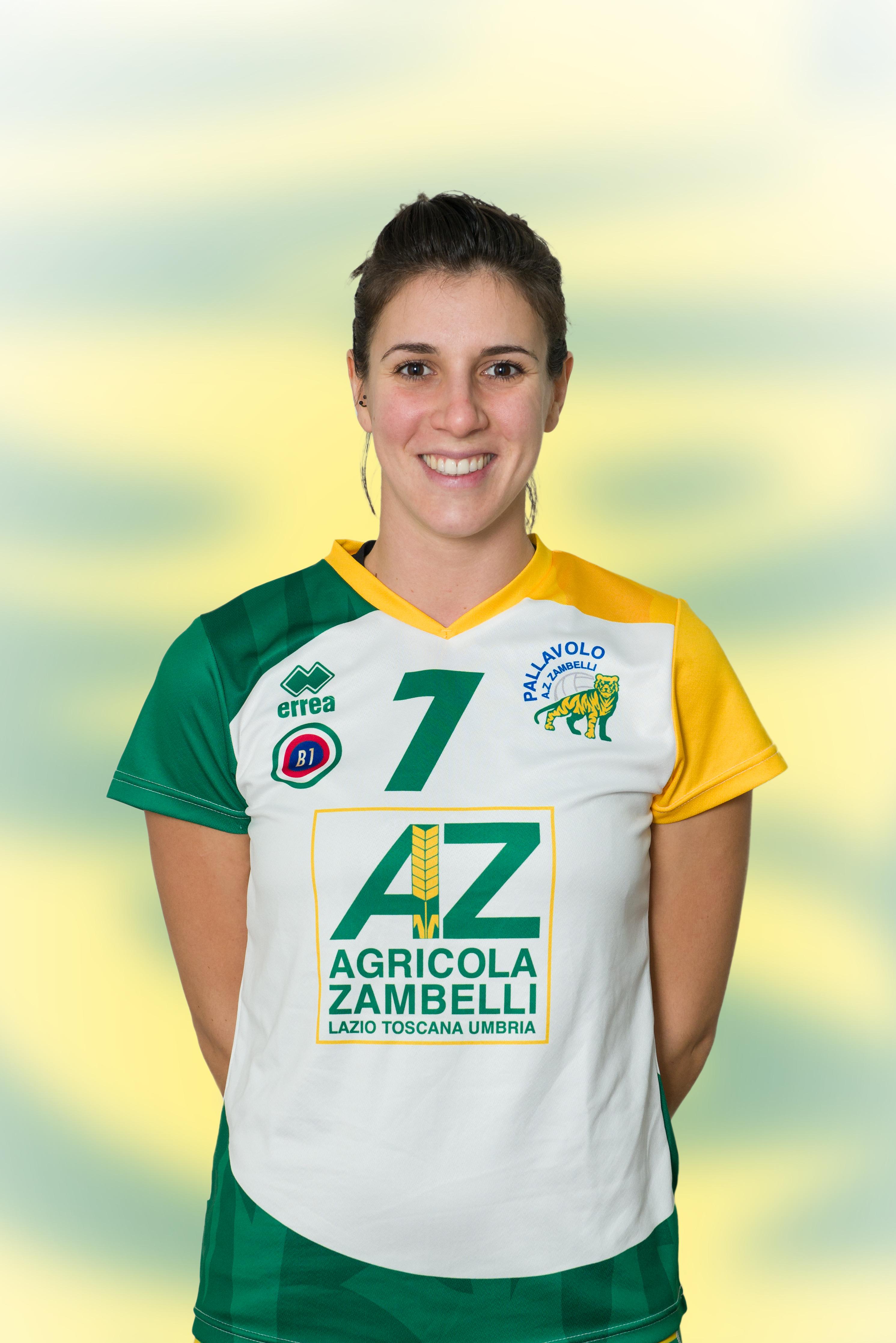 [07] Giulia KOTLAR | Centrale | 1989 | AZ Zambelli ORVIETO • Campionato Pallavolo Femminile Serie B1 2015/16