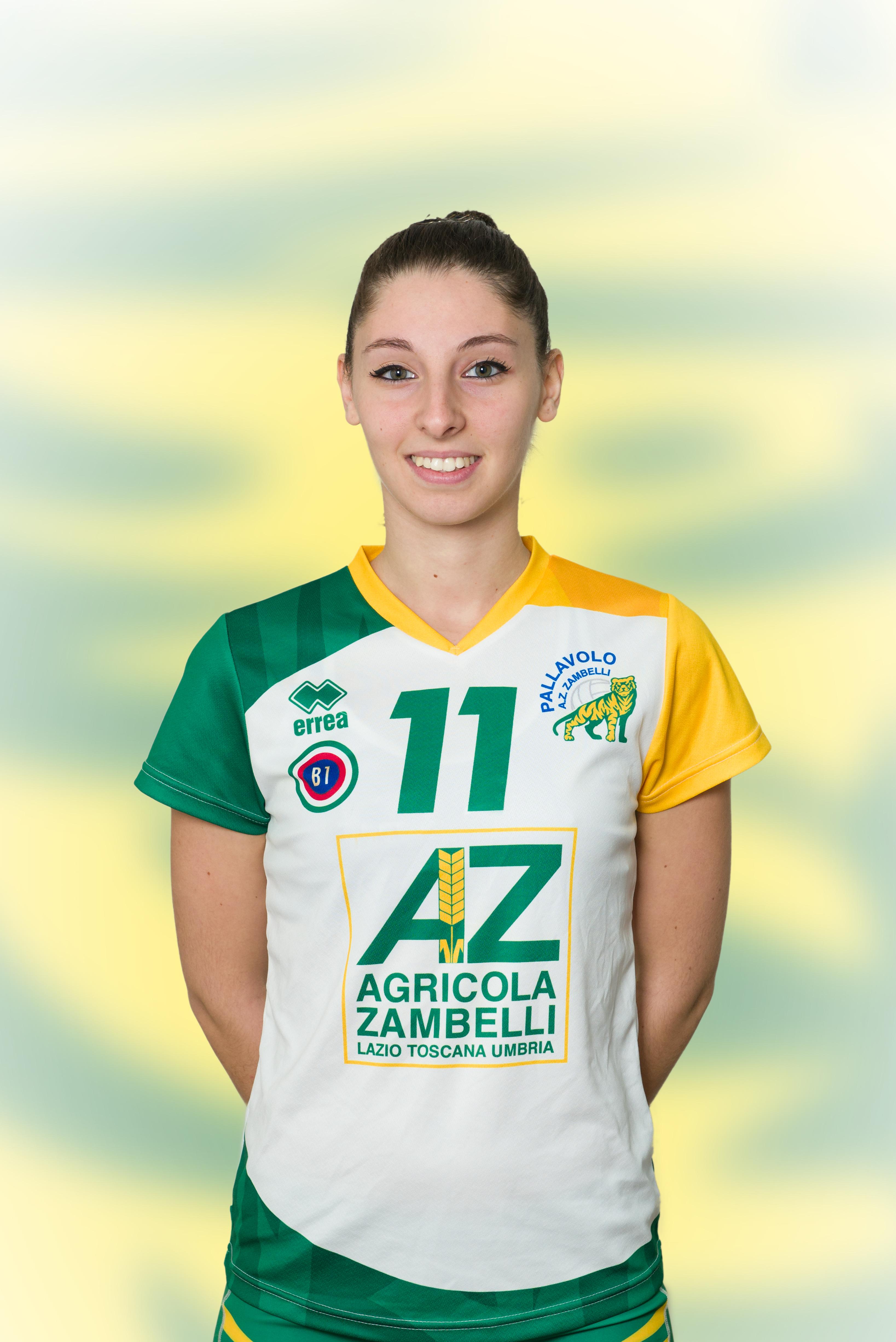 [11] Flavia VOLPI | Palleggiatrice | 1994 | AZ Zambelli ORVIETO • Campionato Pallavolo Femminile Serie B1 2015/16
