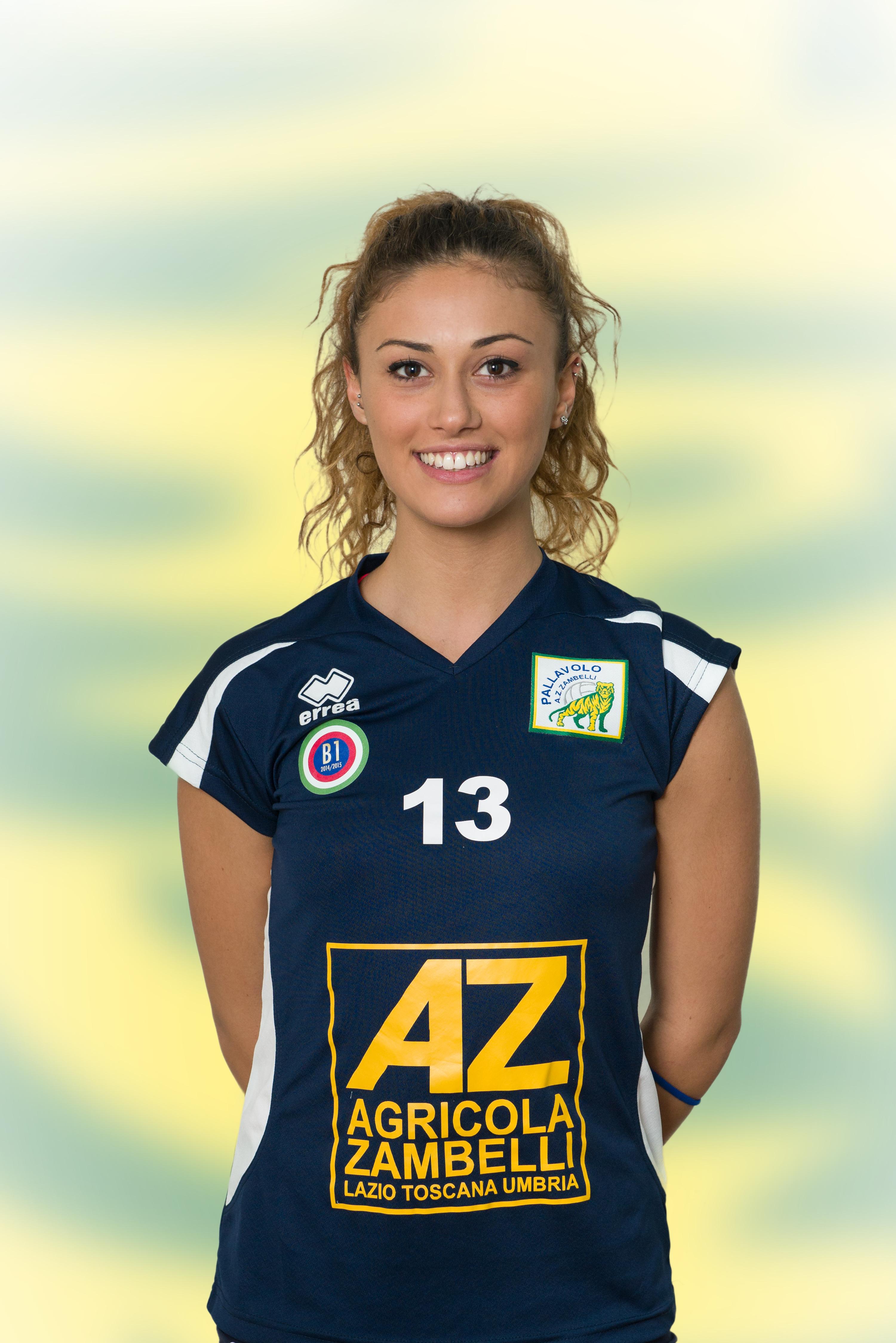 [13] Giulia ROCCHI | Libero | 1992 | AZ Zambelli ORVIETO • Campionato Pallavolo Femminile Serie B1 2015/16