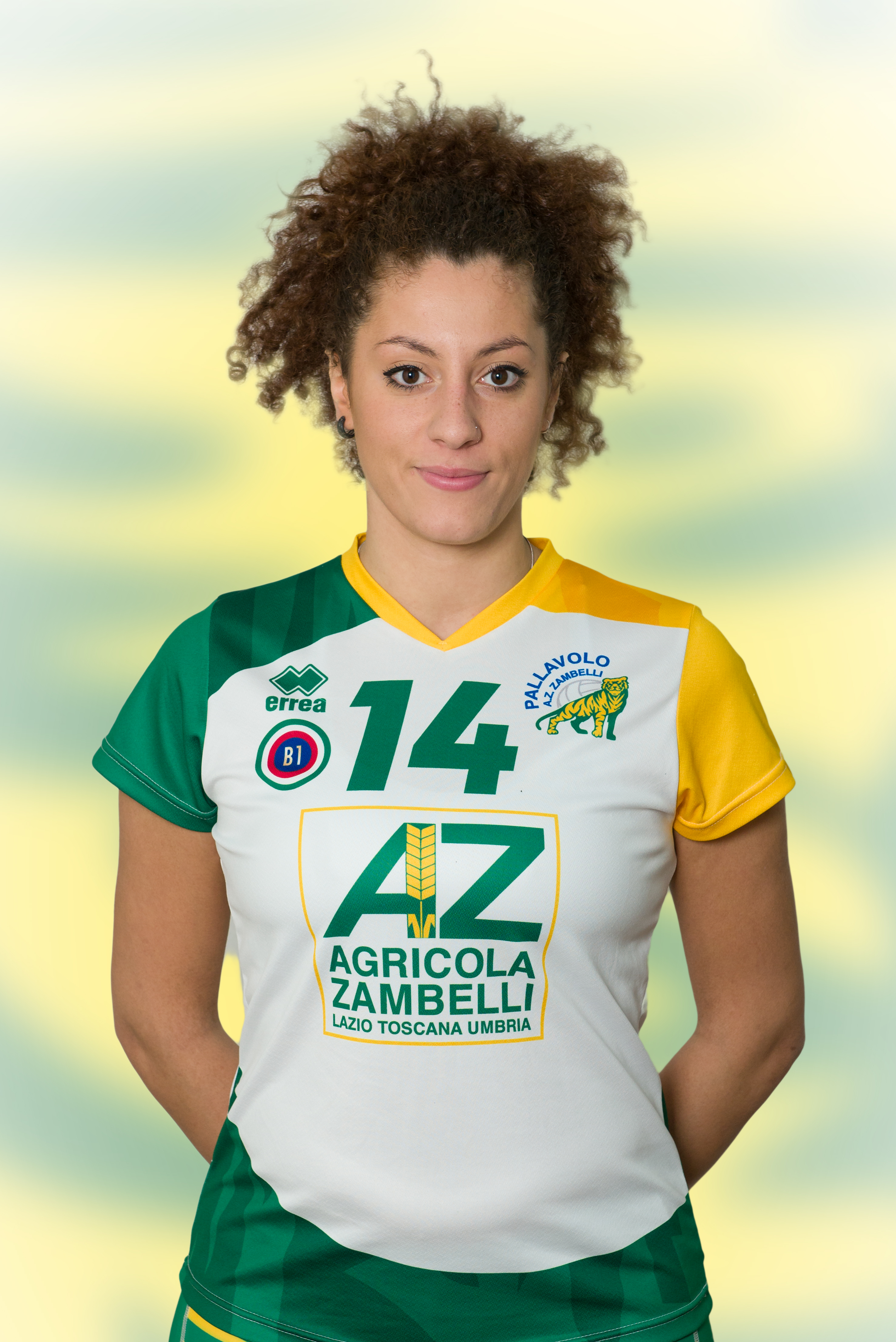[14] Anna Lucia IACOBBI | Schiacciatrice | 1995 | AZ Zambelli ORVIETO • Campionato Pallavolo Femminile Serie B1 2015/16