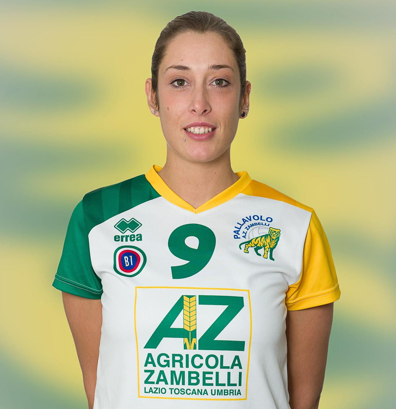 [09] Eleonora FASTELLINI | Schiacciatrice | 1986 | AZ Zambelli ORVIETO • Campionato Pallavolo Femminile Serie B1 2015/16