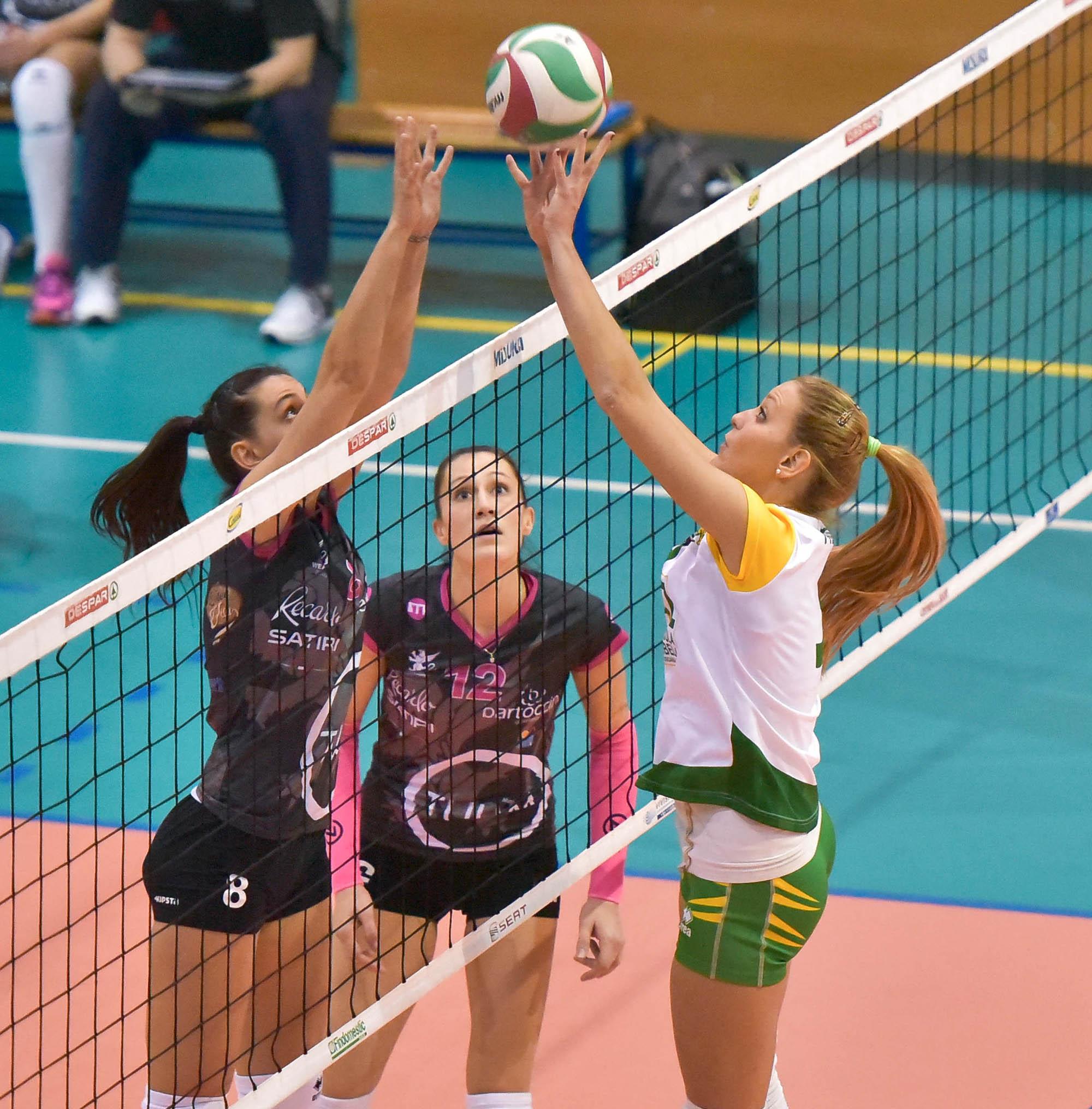 16ª giornata Campionato Serie B1 Femminile 2015-16, girone C PalaPapini Orvieto TR, 20.02.2016
