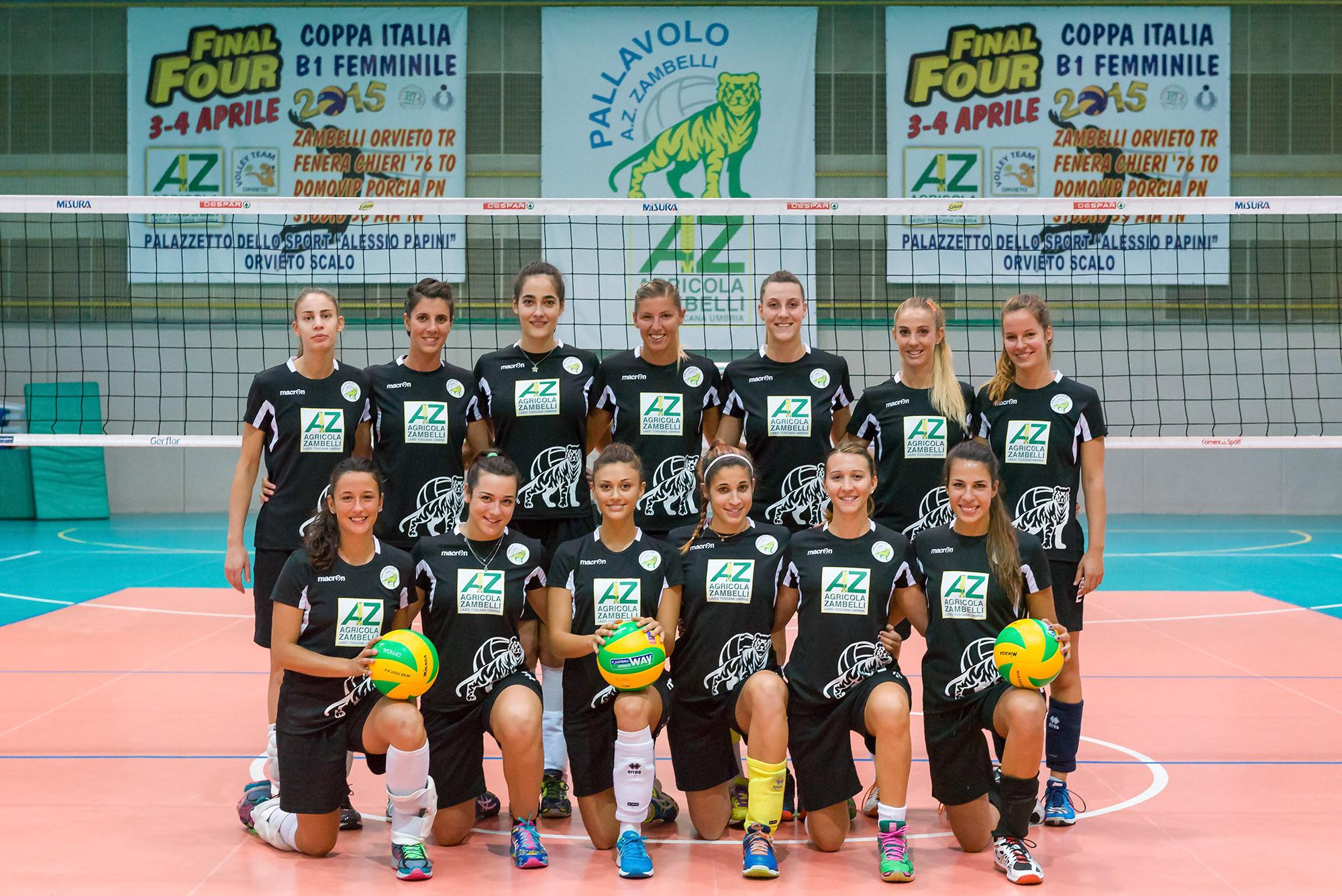 AZ Zambelli Orvieto 2016-17