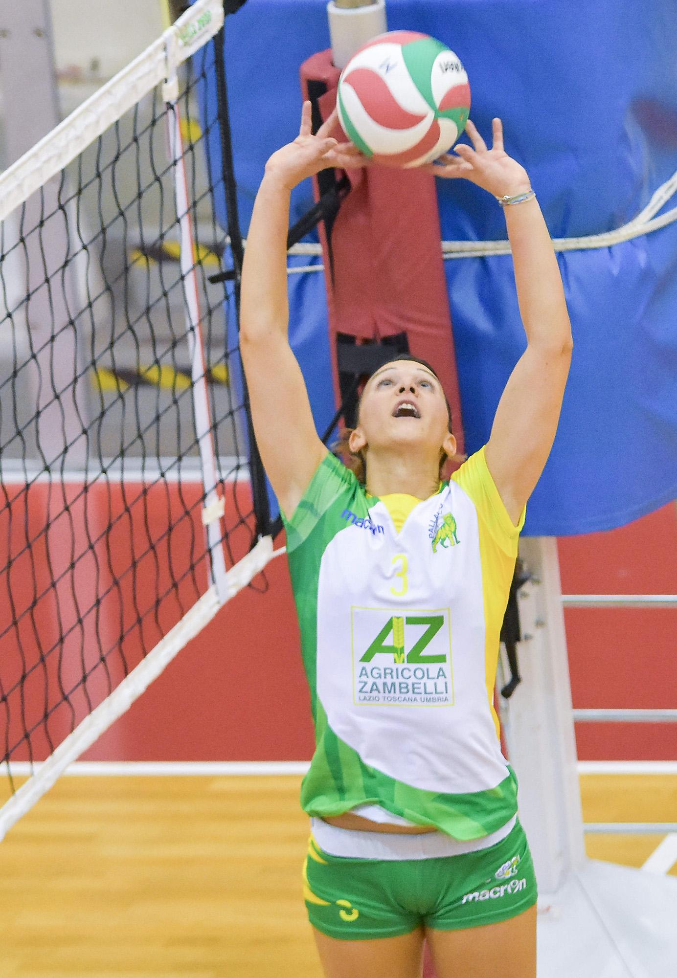 «CMC Olimpia Ravenna - AZ Zambelli Orvieto» 4ª giornata Campionato italiano di Pallavolo Femminile Serie B1